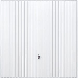 white canopy garage door